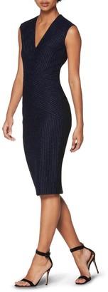 SUISTUDIO Jordan Stripe Print Dress