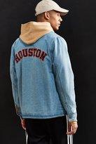 Starter X UO Houston Denim Coach Jacket