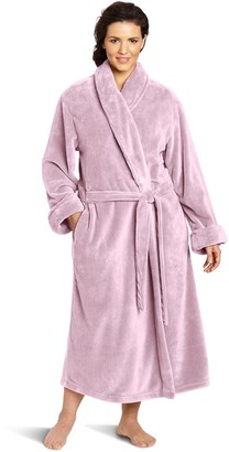 Casual Moments Women's Plus-Size 50 Inch Wrap with Set in Belt