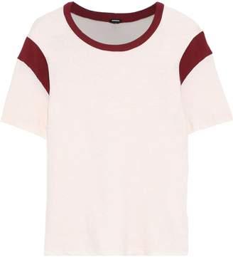 Monrow Slub Cotton-jersey T-shirt
