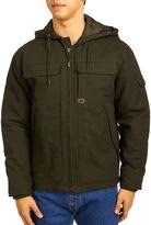 Wrangler Men's Ranger Jacket - Hood - Dark Brown