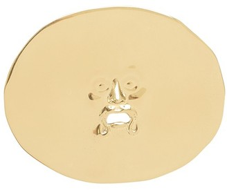 Patou Antic Face brooch