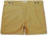 Frescobol Carioca - Leme Short-Length Printed Swim Shorts