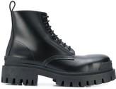 Balenciaga Strike lace-up boots