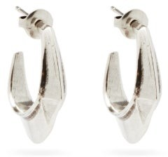 Isabel Marant Moving Small Hoop Earrings - Silver