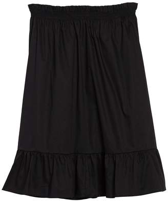 Cotton Emporium Tie Strap Ruffle Hem Dress