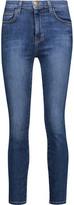 Current/Elliott The Super Highwaist Stiletto High-Rise Skinny Jeans