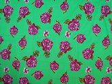 Ibacrafts Indian Cotton Floral Printed Designer Quilting Cotton Fabric By Per Yard
