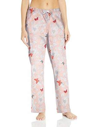 Amazon Essentials Poplin Sleep Pant Pajama Bottom,(EU L - XL)