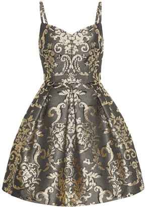 Dolce & Gabbana Metallic brocade minidress