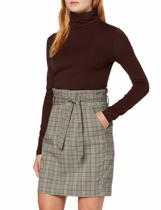 Vero Moda Women's VMAVA LULU LS Rollneck Blouse GA Color Turtleneck