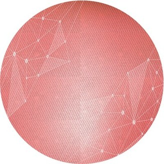 East Urban Home Yggdrasil Geometric Wool Pink Area Rug Rug Size: Runner 2' x 5'