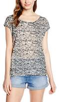 Urban Classics Women's Ladies Burnout Tee T-Shirt,XS