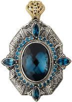 Konstantino Thalassa Oval Enhancer/Pendant with London Blue Topaz