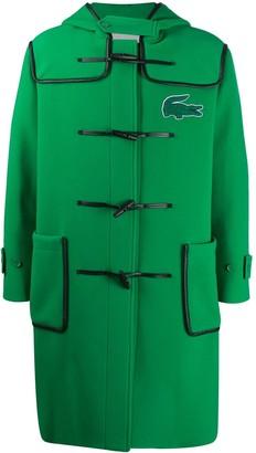 Lacoste Logo-Patch Duffle Coat