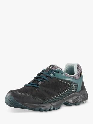 Haglöfs Trail Fuse Women's Waterproof G0ore-Tex Walking Shoes, Mineral/True Black
