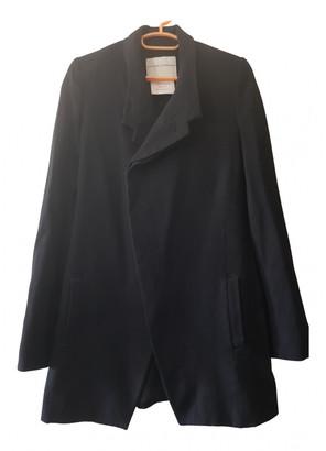 Stephan Schneider Blue Wool Coats