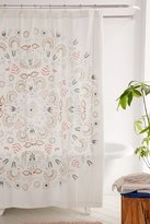 Urban Outfitters Milly Medallion Shower Curtain