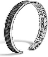 John Hardy Men's Classic Chain Jawan Cuff Bracelet, Black