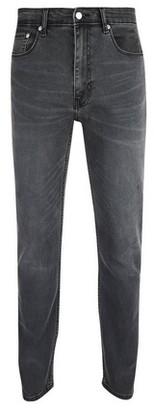 Dorothy Perkins Womens **Burton Grey Flat Tyler Skinny Fit Jeans, Grey