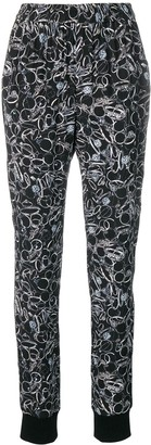A.F.Vandevorst Printed Tapered Trousers