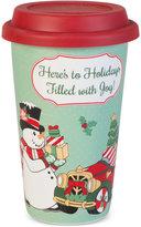 Fitz & Floyd Top Hat Frosty Travel Mug