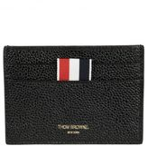Thom Browne Striped Detail Card Holder
