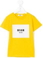 MSGM print T-shirt - kids - Cotton - 8 yrs