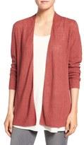 Eileen Fisher Women's Organic Linen Shaped Cardigan