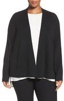 Eileen Fisher Plus Size Women's Merino Wool Cardigan