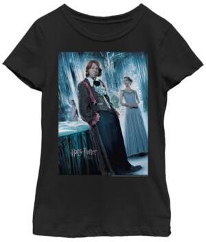 Fifth Sun Harry Potter Big Girl's The Goblet of Fire Ron Yule Ball Short Sleeve T-Shirt