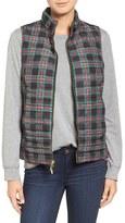 Vineyard Vines Women's Holiday Plaid Puffer Vest