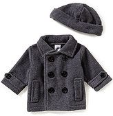 Starting Out Baby Boys 3-24 Months Peacoat and Matching Hat