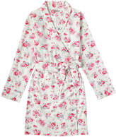 Cath Kidston Wells Rose Brushed Flannel Dressing Gown