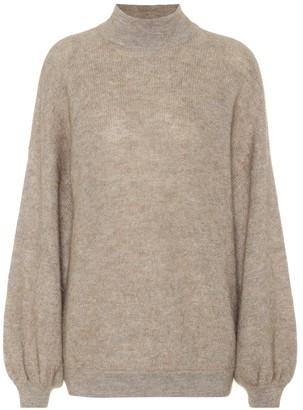 Brunello Cucinelli Mohair-blend turtleneck sweater