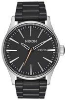 Nixon Men's Sentry Bracelet Watch, 42Mm