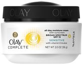 Olay Complete All Day Moisture Face Cream with Sunscreen, Sensitive Skin 2.0 fl. oz. (Pack of 3)