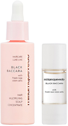 Miriam Quevedo Black Baccara Hair Multiplying Scalp Concentrate + Pre-Treatment Exfoliator