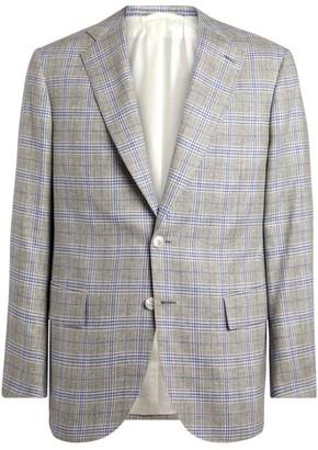 Stefano Ricci Check Tailored Jacket