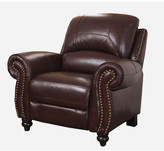 Darby Home Co Kahle Leather Arm Chair Recliner