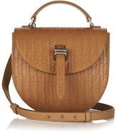 Meli-Melo Ortensia Cross Body Bag Light Tan Woven