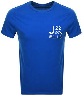 Jack Wills Barford Short Sleeved T Shirt Blue
