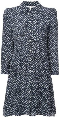 Veronica Beard Printed Shirt Dress