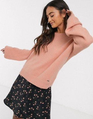 Hollister cosy pink sweater