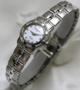 Raymond Weil Watches Parcifal all Stainless-steel Dial Diamond Hour Markers Diamond Bezel and Bracelet Swiss LIMITED EDITION (Size Mini) Women's Watch