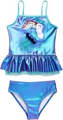Flapdoodles Kids' Toucan Two-Piece Swimsuit