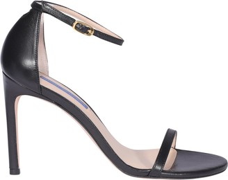Stuart Weitzman Nudistsong Strappy High-Heel Sandals
