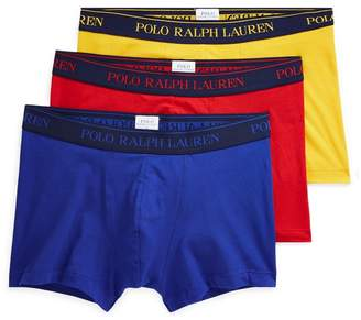 Ralph Lauren Stretch Cotton Trunk 3-Pack