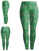Kalin L Christmas Women's Digital Print Leggings Footless Tights