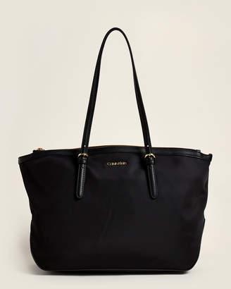 Calvin Klein Abigail Nylon Tote Bag